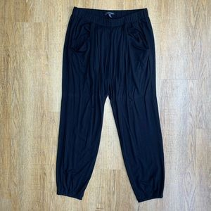 Eileen Fisher Black Pocket Jogger Pants